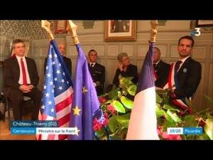 Vidéo : visite de Geneviève Darrieussecq à Château-Thierry
