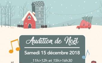 Auditions de Noël