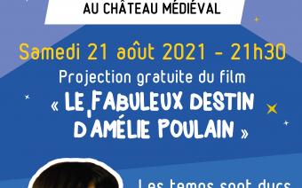Cinéma en plein air - Le Fabuleux Destin d'Amélie Poulain