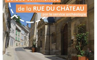 Inauguration et balade commentée de la rue du Château