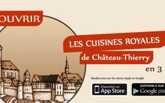 Les cuisines royales - application mobile