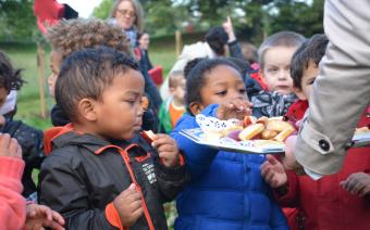 Manger sain dès le plus jeune âge