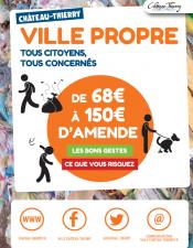 Château-Thierry ville propre - Les bons gestes