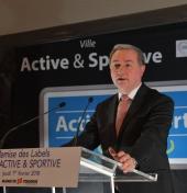 """Remise des labels """"Ville active et sportive"""" © B. Aïach"""