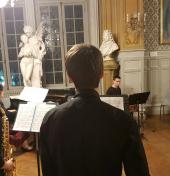 Soirée musicale avec l'association des parents d'élèves du conservatoire